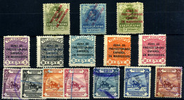 Marruecos Español (Telégrafos) Nº 1/2, 9, 17/21, 25/31. Año 1916/26 - Marocco Spagnolo