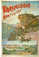 46 - Rocamadour - REPRODUCTION Affiche De Chemin De Fer D'Orléans Rocamadour Et Montvalent - Rocamadour