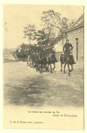 A0807[Postkaart] Le Retour Des Invités Du Tir / Camp De Brasschaet, (F. Hoelen) [Brasschaat] - Casernes