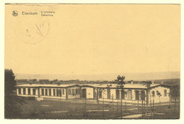 A0808[Postkaart] Elsenborn / L'Infirmerie. / Ziekenhuis. (Maison Kanzler, Nels) [het Hospitaal Camp SM SMB 1923] - Casernes