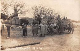 CARTE PHOTO ALLEMANDE  SAINT SOUPLET 1915  (N°201) - Autres Communes