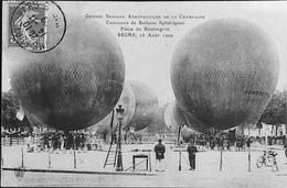 REIMS -- Grde Semaine Aéronautique De La Champagne- Concours De Ballons Sphériques Au Boulingrin - Reims