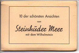 Leporello Steinhuder Meer B. Hannover, 12 Karten A 9 X 14 Cm, Um 1950-59 - Steinhude