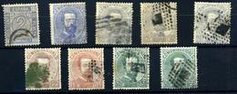 España Nº 116, 121/6. Año 1872 - Gebraucht