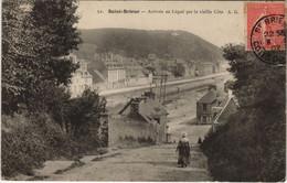 CPA AK Saint Brieuc Arrivee Au Legue FRANCE (1137041) - Saint-Brieuc