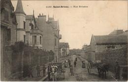 CPA AK Saint Brieuc Rue Brizeux FRANCE (1137079) - Saint-Brieuc