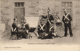CPA AK Saint Brieuc Costumes Militaires FRANCE (1137137) - Saint-Brieuc