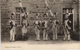 CPA AK Saint Brieuc Costumes Militaires FRANCE (1137138) - Saint-Brieuc