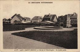 CPA AK Saint Brieuc Le Jardin Public FRANCE (1137170) - Saint-Brieuc