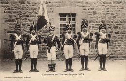 CPA AK Saint Brieuc Costumes Militaires FRANCE (1137203) - Saint-Brieuc