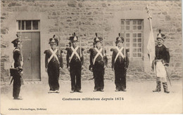 CPA AK Saint Brieuc Costumes Militaires FRANCE (1137204) - Saint-Brieuc