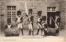 CPA AK Saint Brieuc Costumes Militaires FRANCE (1137205) - Saint-Brieuc