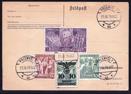 FELDPOST 31/12/39 POLAND - PRZEMYSL 1 - GENERAL GOUVERNEMENT - Weltkrieg 1939-45