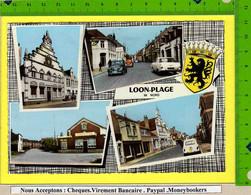 LOON PLAGE  : Lu3 Rue Pricipale Voitures 2 Cv Citroen  Multivues - Other Municipalities