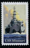 Etats-Unis / United States (Scott No.5392 - USS Missourri) (o) - Used Stamps