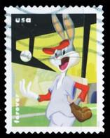 Etats-Unis / United States (Scott No.5502 - Bugs Bunny, 82th Ann.) (o) - Gebruikt