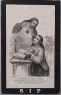Eugenia Vanderstraeten-dickelvenne 1843-nerderzwalm-hermelgem 1880 - Devotion Images