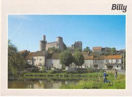 03 - Billy - Le Château Vu De L'étang - Sonstige Gemeinden