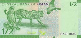Oman P-NEW 1/2 Rial 2020 UNC - Oman