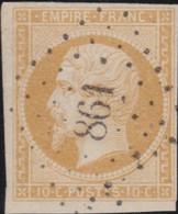 France   .   Y&T   .    13B   .   O   .      Oblitéré    .   /   .   Cancelled - 1853-1860 Napoleon III