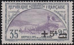 France   .   Y&T   .    166    .   *  .    Neuf Avec Gomme Et Charnière  .   /   .  Mint-hinged - Ongebruikt