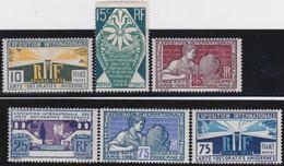 France   .   Y&T   .   210/215   .   **    .      Neuf  Avec Gomme Et  SANS Charnière     .   /   .  MNH - Ongebruikt