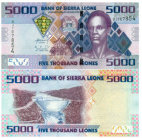 Sierra Leone P32 5.000 Leones 2010 UNC - Sierra Leone