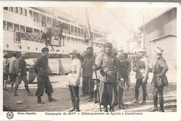 CPA-1925-GUERRE Du RIFF Maroc-Casablanca-Débarquement Des Spahis-TBE - Other Wars