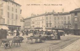 H0508 - AURILLAC - D15 - Place De L'Hôtel De Ville - Aurillac