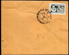 Argentina - 1947 - Carta - Matasello Especial - Miguel Cervantes Saavedra - A1RR2 - Gebruikt