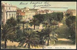 TUNIS Avenue Jules-Ferry1909 ? - Túnez