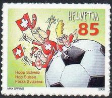 Soccer Football Switzerland #2056 2008 UEFA European Championship MNH ** - UEFA European Championship