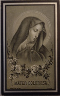 Emma Maria Vandaele -emelghem 1867-iseghem 1913 - Devotion Images