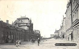 Arlon - La Gare Et Avenue Des Voyageurs - Arlon
