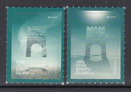2017 Iceland Bridges Europa Complete Set Of 2 MNH @ BELOW FACE VALUE - Nuovi