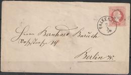 Oostenrijk Brief Naar Berlin / Opruiming, Clearance Sale, Déstockage. - Covers & Documents
