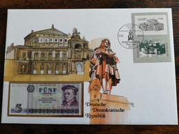BANKNOTEN BRIEF - BANKNOTE COVER     - GERMANY - EAST  DUITSLAND  DDR    ** COVER 30** - Sin Clasificación