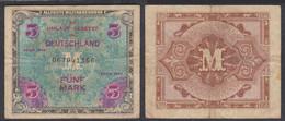 Alliierte Besatzung 5 Mark 1944 Ro 202a Pick 193 F (4)  (27719 - Unclassified