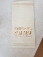 Album Complet 50 Chromos, Etablissements Martineau Blois-le-Mans - Sonstige