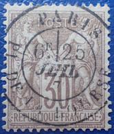 R1311/138 - SAGE TYPE I N°69 - CàD De PARIS PLACE DE LA BOURSE - 1876-1878 Sage (Typ I)