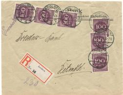 Germany 1923, Registered Letter Sent From Arolsen On 07/02/1923 - Covers & Documents