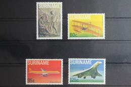 Suriname 849-852 ** Postfrisch #UL134 - Avions