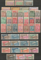 Cameroun 1925-38 Sc 170-211 Yt 106-48 Complete Set MH*/MNH**/MNG(*) - Ungebraucht