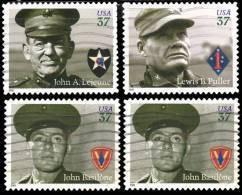 Etats-Unis / United States (Scott No.3961-64 - Distinguished Marines) (o) Série / Set - Used Stamps
