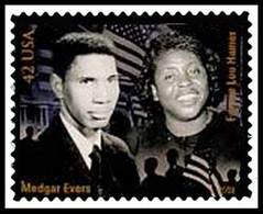 Etats-Unis / United States (Scott No.4384e - Civil Rigts Pioneers) (o) - Used Stamps