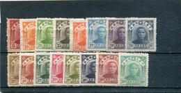 Chine Du Nord-Est 1946-47 Yt 25-37 40 44-45 * - North-Eastern 1946-48