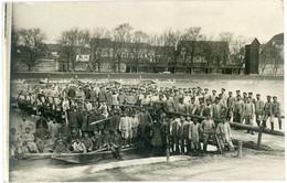 14-18.WWI - Carte Photo Allemande - Feindesland Frankreich Fluss Atelier München Ingolstadt - Guerre 1914-18
