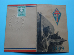 R.P.F. ( Rassemblement Du Peuple Français ) BELFORT ( Valdemar Hartig 7-7-1921 Obertamwald ) BELFORT 1949 ( Voir Photo ) - Unclassified