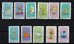 NEW 2021 11 Timbres - SAINT EXUPERY Oblitérés - Used Stamps