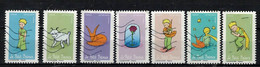 NEW 2021 7 Timbres - SAINT EXUPERY Oblitérés - Used Stamps